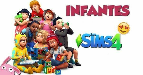 imagen de los sims infantiles