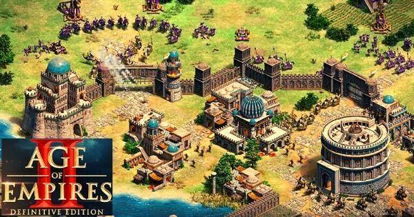 captura de pantalla de el juego para pc age of empires 2