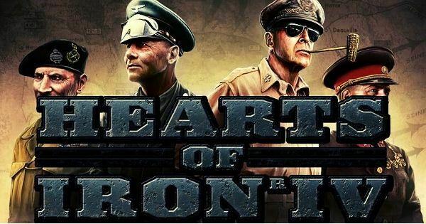 portada de el juego para pc hearts of iron 4