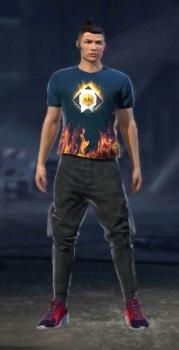 playera de oro de free fire