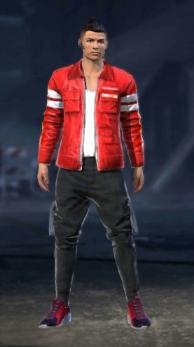 chaqueta roja  free fire