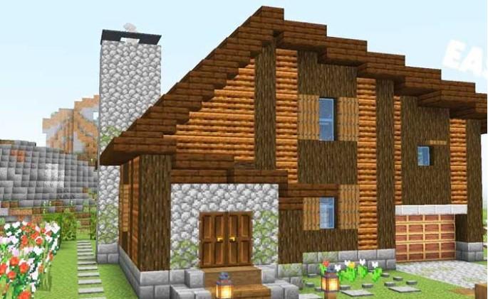 Casa De Madera Minecraft