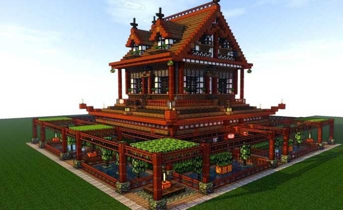 Minecraft Casa Japonesa