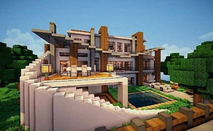 Villa Minecraft