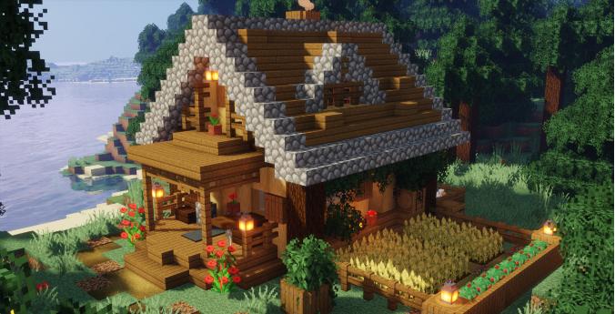 Casa Medieval De Minecraft