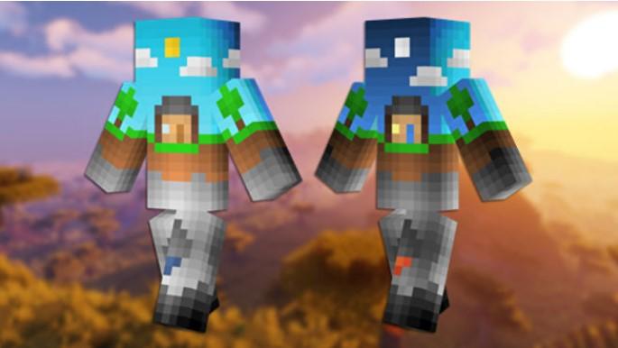 Skin de Minecraft Overworld
