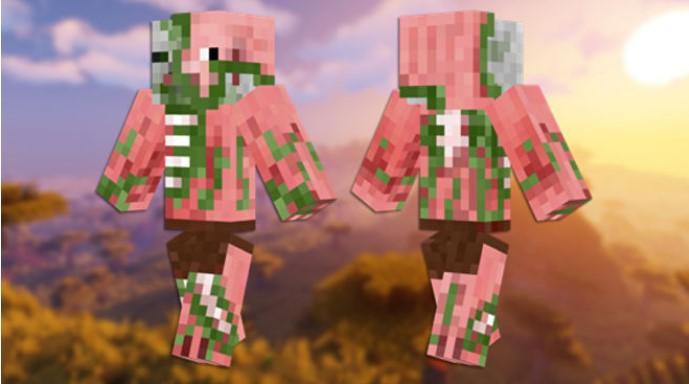Skin de Zombie Pigman