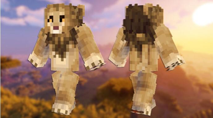 Skin de león