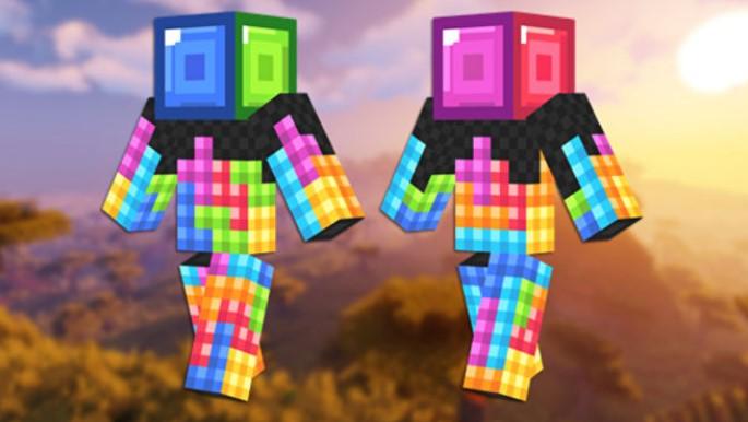 Skin de tetris