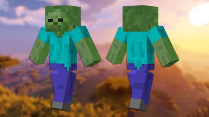 Skin de zombie